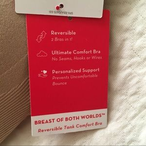 bf6d0044d7487 SPANX Intimates   Sleepwear - NWT Spanx Seamless Reversible Tank Comfort Bra